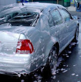Car with Soap
