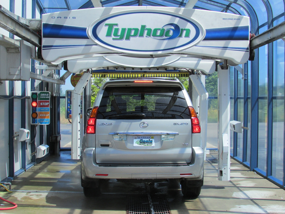 Typhoon | Oasis Car Wash Systems | Automatic Carwash Manufacturer